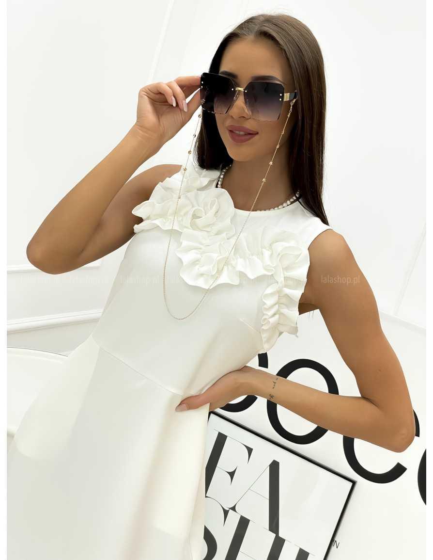 Sukienka KATRINE biała