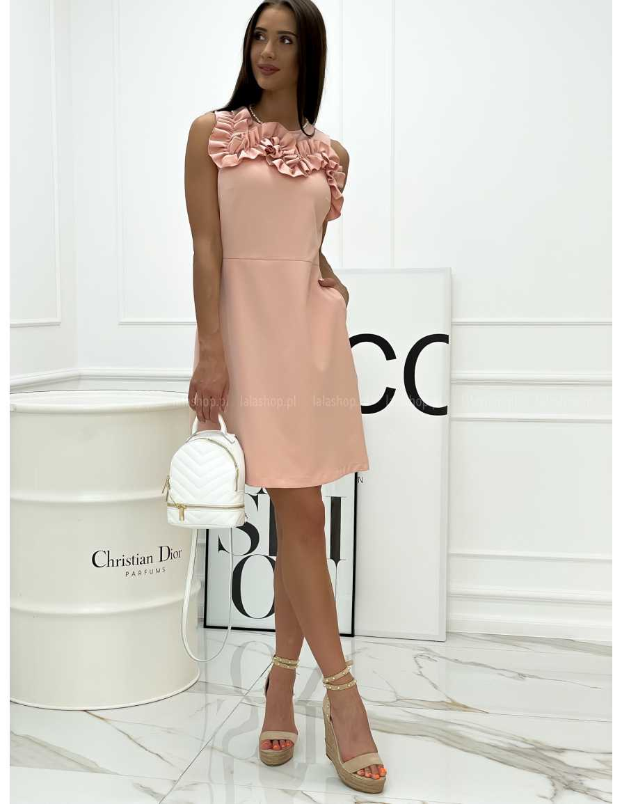 Sukienka KATRINE różowa