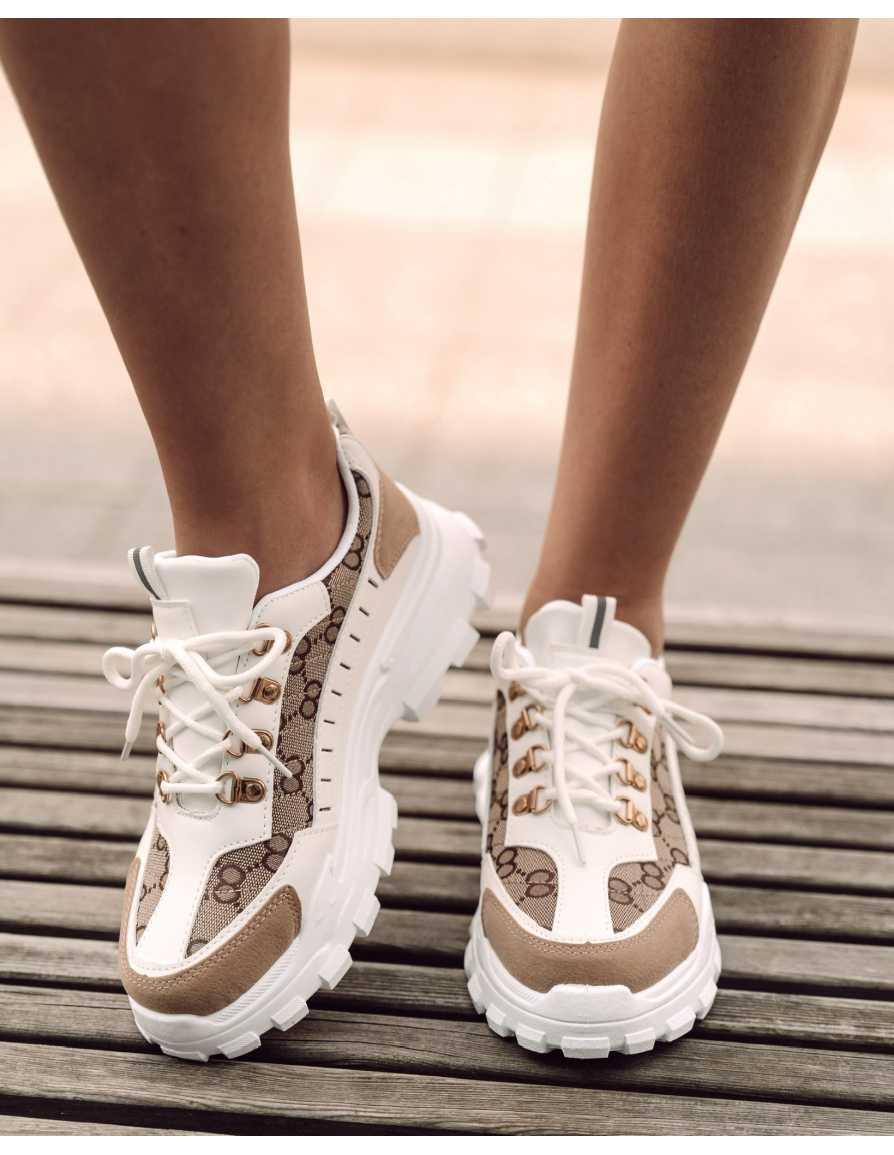 Buty sneakers białe