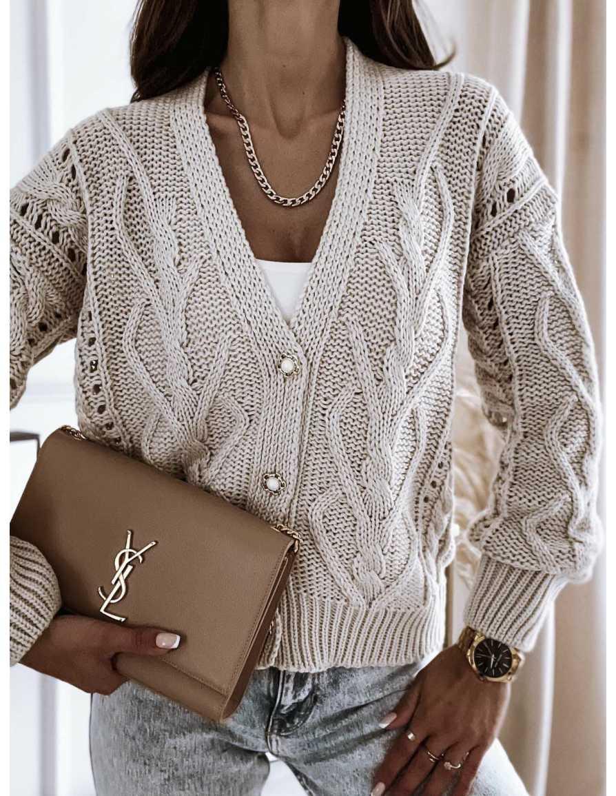 Sweter BOCCI beż