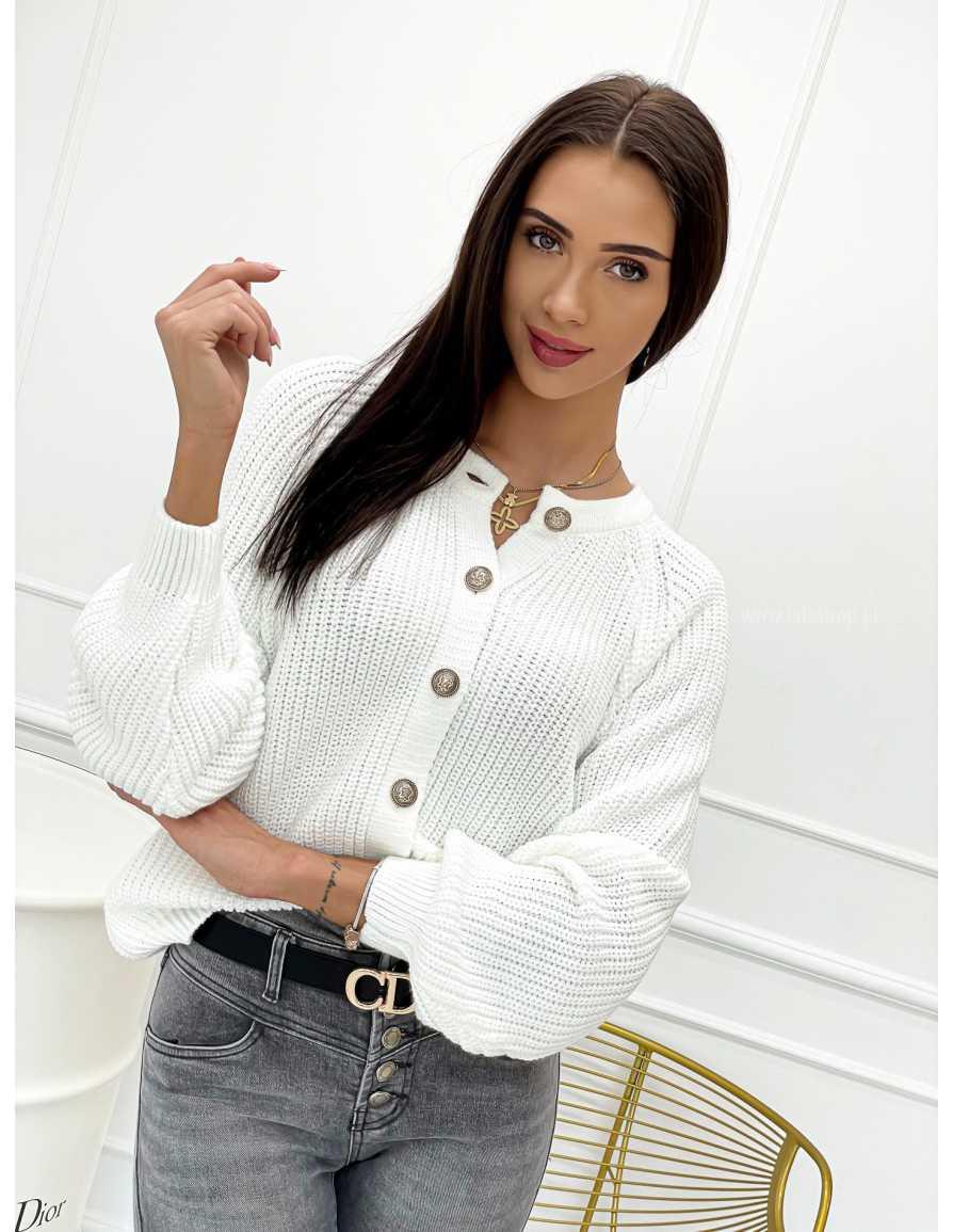Sweter BY ME biały