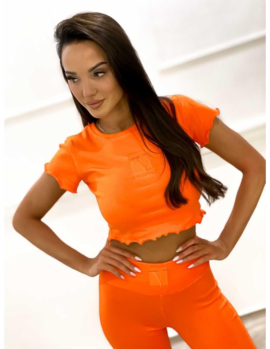 Bluzka VELSATINO F pomarańczowa