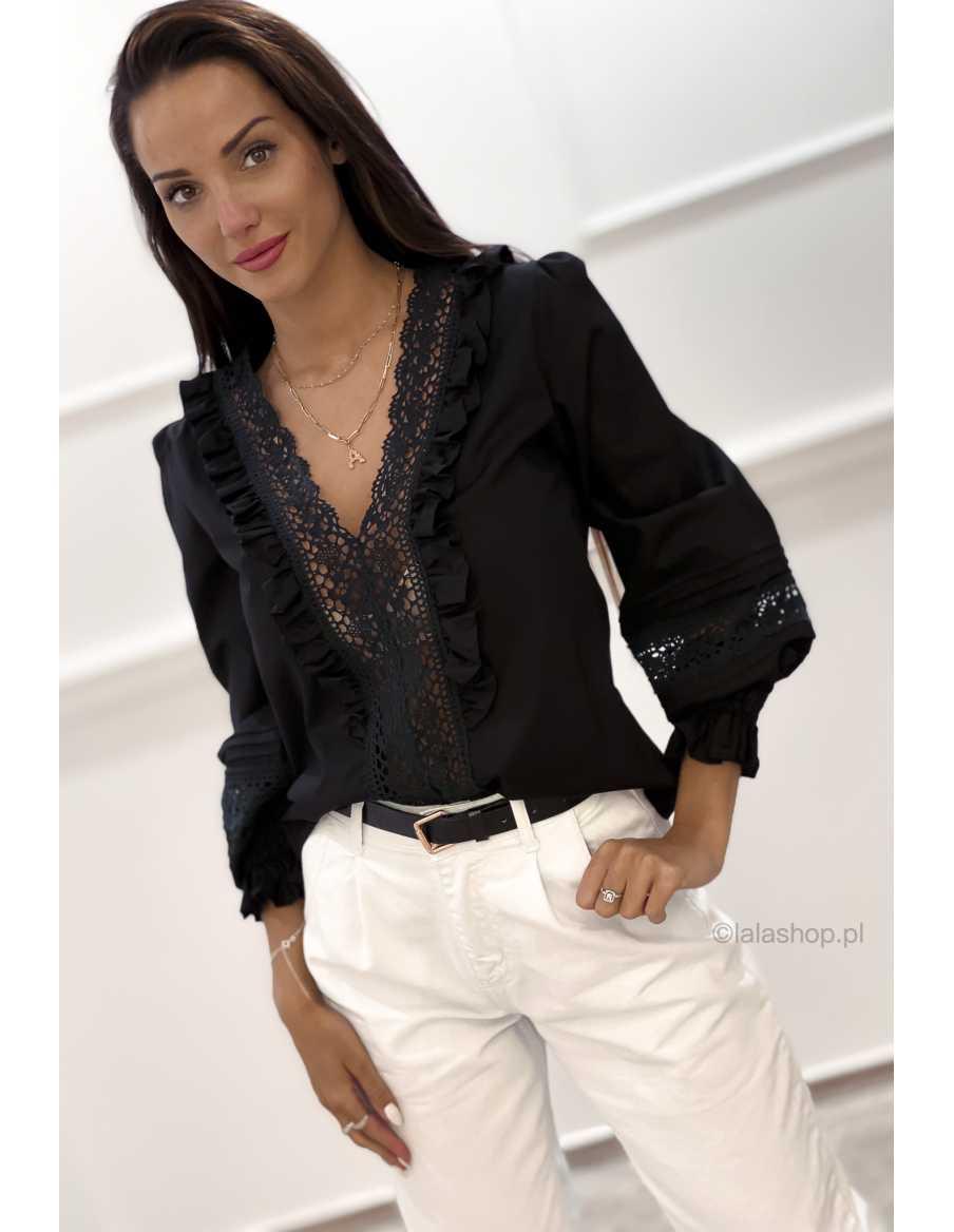Bluzka ARONA czarna