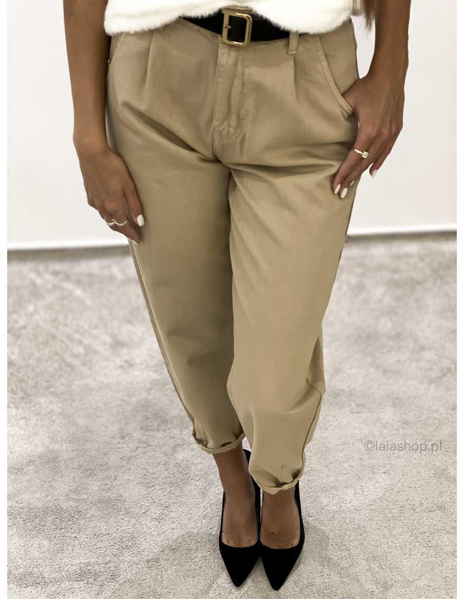 Spodnie SLOUCHY camel