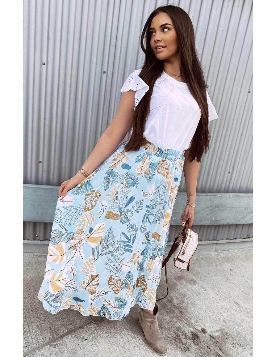 Spódnica TAMARA niebieska